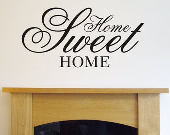 Createworks Wall Stickers - Home Sweet Home - Wall Art  WA206X