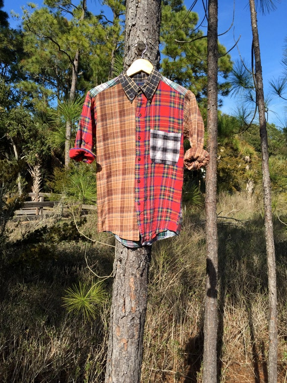 90s Mix n Match Flannel (Red)