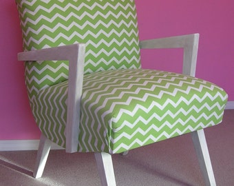 Vintage Side Chair Upcycled