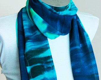 Spring Summer Fashion  infinity scarf: turquoise Scarf  shawl wrap spring summer fashion navy green turquoise gift for her spring scarf