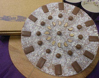 """12"""" Full House Chocolate Pizza"""