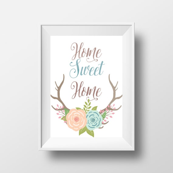 Entryway And Free Printables: Home Sweet Home Printable Entryway Printable Art Home Sweet