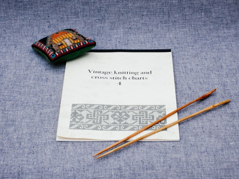 Knitting Cross Stitch : Vintage knitting and cross stitch charts 4 cross stitch