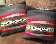 Throw Pillow made with vintage Pendleton® Fabric