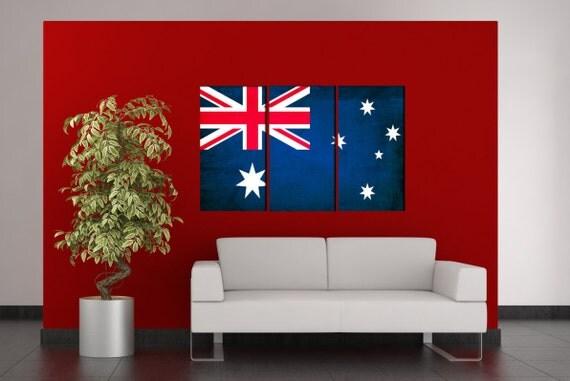 australian flag  canvas wall art australian flag  wall decoration australian flag canvas wall art art australian flag large canvas wall art