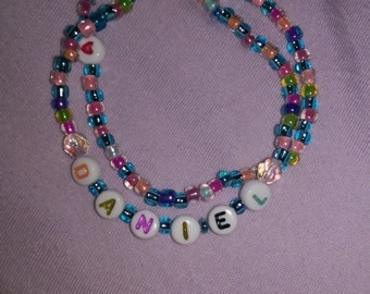 Beautiful, colorful Personalized Bracelets