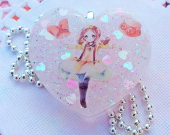 Cute Lolita Fairy Kei Heart Necklace