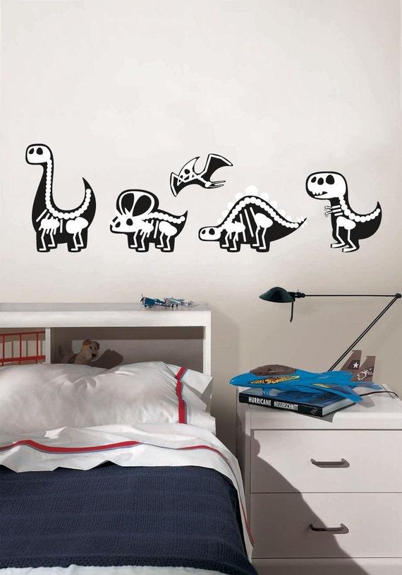 Cute dinosaurs x ray vision kids room playroom d cor wall for X ray room decor