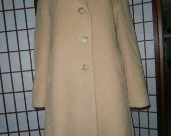 Women's Camel 3/4 Coat