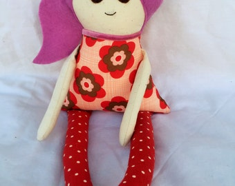 Milly doll, handmade, FREE postage within Australia