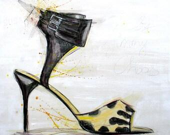 high heels finARTprint