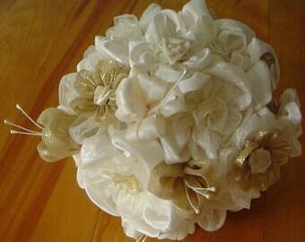 Bouquet de mariée & boutonnière/Bouquet and boutonniere
