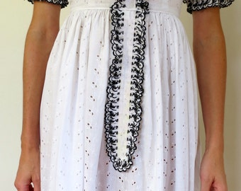 Gorgeous broderie anglais dress
