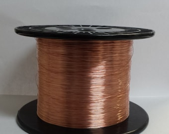 copper wire - 26 gauge copper wire - bare copper - 500 ft. spool