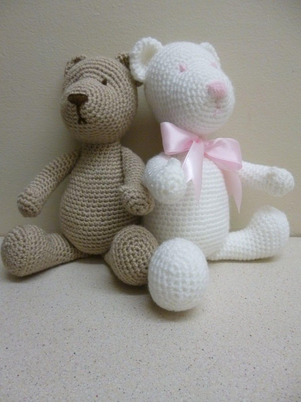 Amigurumi Crochet Teddy Bear Pattern