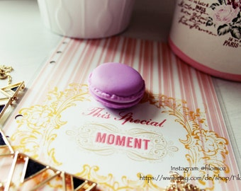 Macaron Storage Box (Purple)