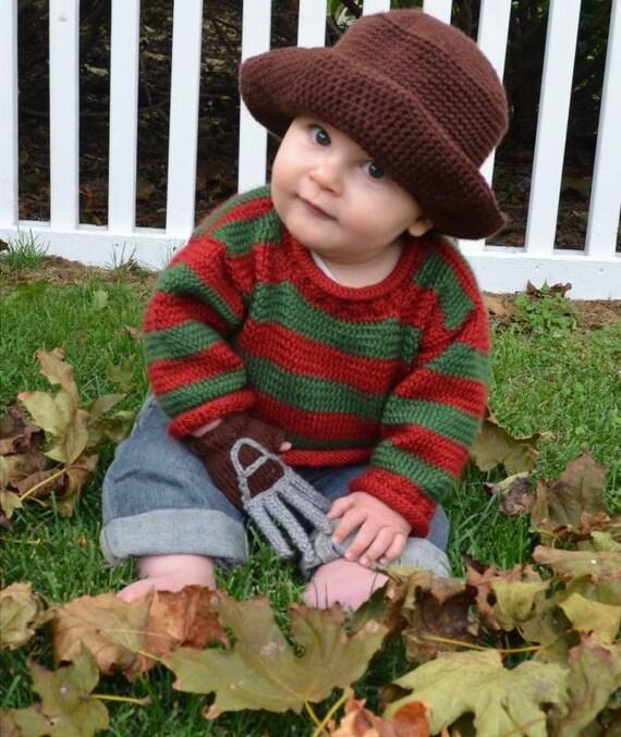 Freddy Krueger Glove Template Freddy Krueger Baby Ou...
