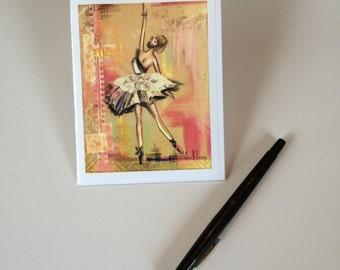 2014 - Ballerina 1 Design, Greeting Card