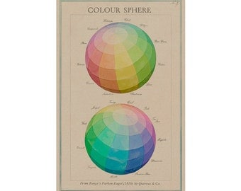 Double Colour Sphere no.3 wall hanging