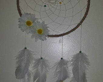 "9"" Daisy dream catcher"