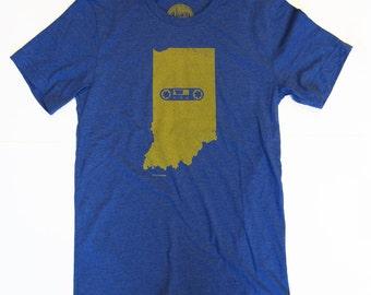 Indiana Mixtape Tshirt, Screenprinted Tshirt