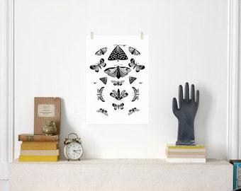 Butterflies / Affiche Poster