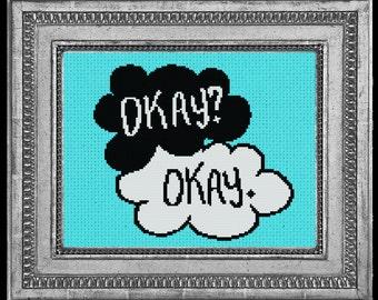 Okay? Okay. The Fault in Our Stars Cross Stitch PDF Pattern