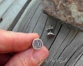 Tree Earrings Sterling Silver Post Earrings Forest Jewelry