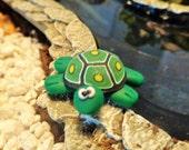 Miniature Fairy Garden Turtle Polymer Clay