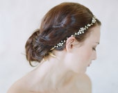 Bridal hair vine - Simple crystal hair vine - Style 545 - Ready to Ship