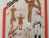 1980's Lone Ranger Costume Pattern Simplicity 5298