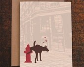 funny anniversary card / funny cards / dog you're mine