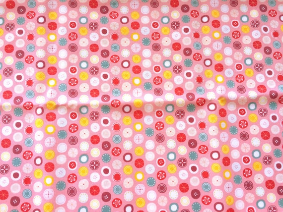 Japanese Fabric - Japanese Candy Fabric - Pink Fabric -  Half Yard   110 cm x 50 cm (F83)