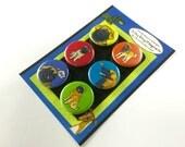 Leonberger Silly Dog Magnet Set