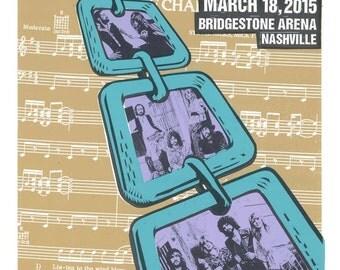 Fleetwood Mac 2015 Tour Screen Print Concert Poster by Print Mafia