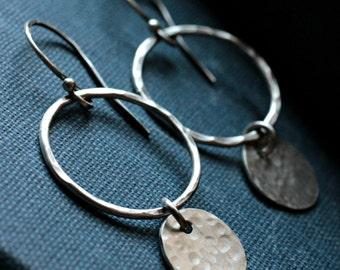 Sterling Silver Earrings - ORBIT