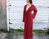 ORGANIC Kimono Belted Long Jacket (light hemp and organic cotton knit) - organic jacket