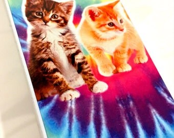 Kittens Tie Dye Iphone Hard Case