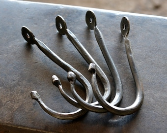 Forged Iron Ball-end Hook