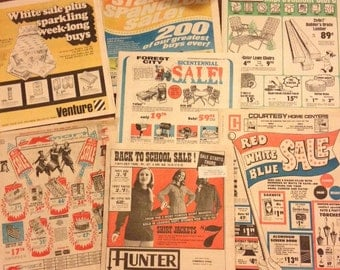 1970s Newspaper Shopping Ads (7)