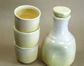 Barware Set - Bar ware - Whiskey Cups with bottle - Decanter - Entertaining - Home Decor