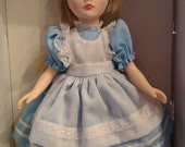 Reserved for Lezlee Alice In Wonderland Storybook Doll by Effanbee 1987