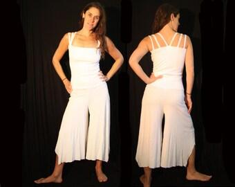 White Jumpsuit Onesie