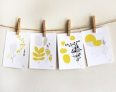 Seasons Print Set of Four 5 x 7