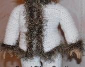 18 inch American Girl Crochet Pattern - Eskimo