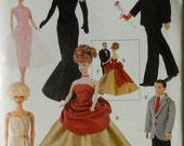 "11 1/2"" Fashion Doll Sewing Pattern Retro Vintage Clothes Vogue 9894 Shipping to USA INCLUDED"