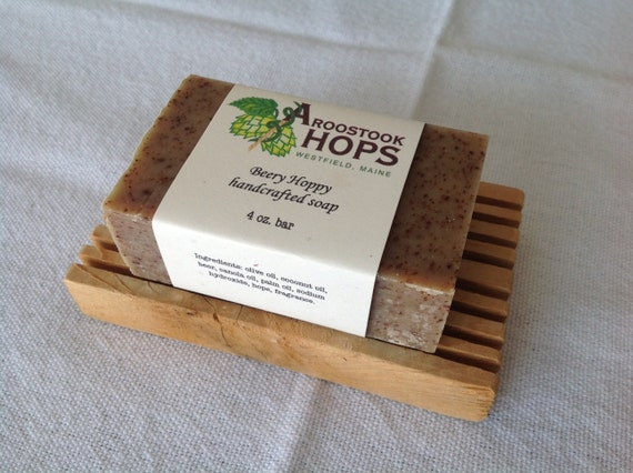 Beery Hoppy handcrafted natural soap made in Maine