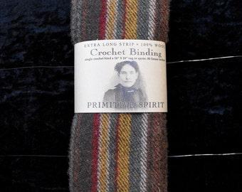 Earth Stripe - Crochet Binding Wool