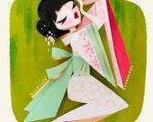 Geisha Print