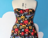 next generation star trek sweet heart dress - any size.